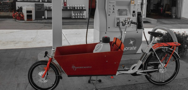 Bakfiets, gas shoreview, bicycle