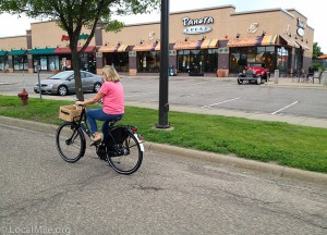 bicycle vadnais heights panera bread